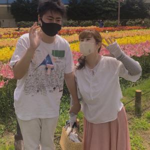 夏の思い出♫百合の公園へ〜♫&かき氷☆