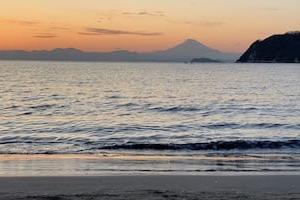 思い出の逗子海岸