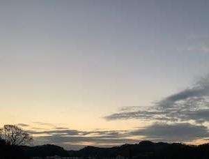 新しい朝、新しい一週間、新しい一年