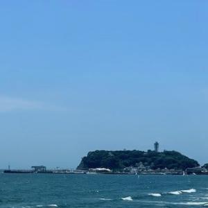 夏の空、夏の海