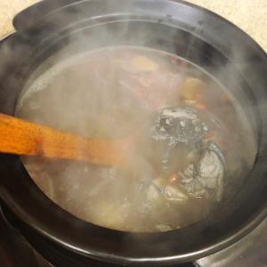 羊肉爐と麻油雞