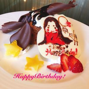 ママ誕生日 かぐや姫さおちゃん誕生日ケーキ