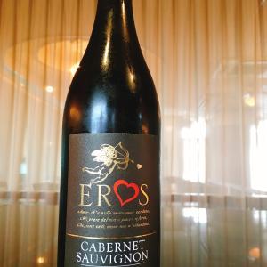 楽しみエロス赤ワイン かわいいドレス柄ハンカチ