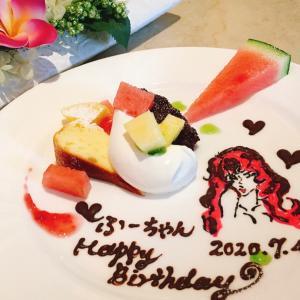 ふーちゃんお誕生日 先日のキママカフェさん