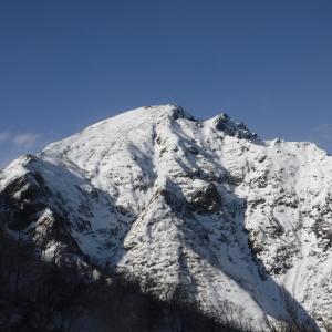 雪山開幕戦  @谷川岳天神