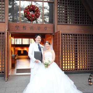 長男が結婚しました♪