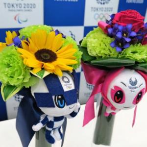 東京オリンピックのビクトリーブーケは被災地産の花が使われています