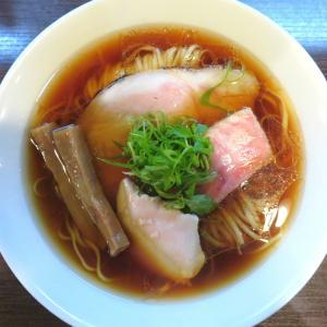 らぁ麺 紫陽花@六番町(愛知県) 「醤油らぁ麺」