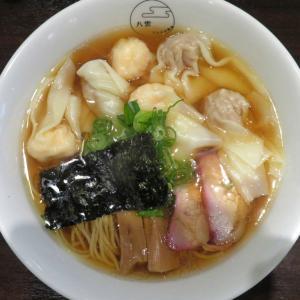 八雲@池尻大橋 「特製ワンタン麺(黒だし)」