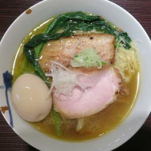 麺 みつヰ@浅草 「塩(中太手もみ麺)」