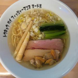 Tokyo Bay Fisherman's noodle@北久里浜(神奈川県) 「潮らぁ麺」