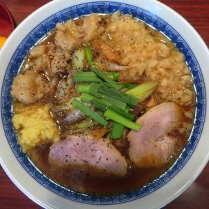 中華そば たた味@小伝馬町 「特製スタミナ中華、生卵 2個」