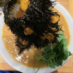 吉祥寺 武蔵家@ラーメンWalkerキッチン(ところざわサクラタウン) 「ウニボシMAX+遊び飯、ほか」