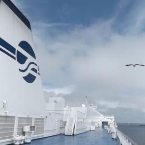 2020年夏。常磐線そしてフェリー⑫ ウミネコとともに仙台出港