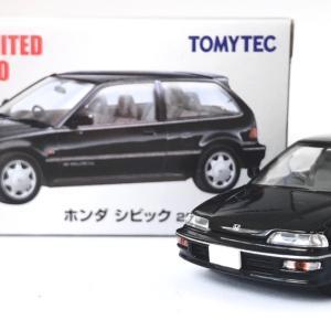 【TLV NEO】ホンダ シビック 25XT 黒 (1989年式)