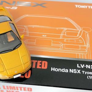 【TLV NEO】ホンダ NSX Type S Zero オレンジ (1997年式) 写真のみ