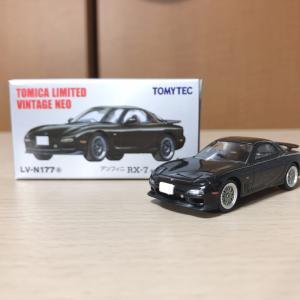【TLV NEO】アンフィニ RX-7 タイプRZ 1997年式 黒