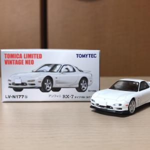【TLV NEO】アンフィニ RX-7 タイプRS 1997年式 白