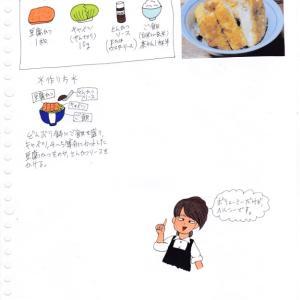 ソース豆腐かつ丼
