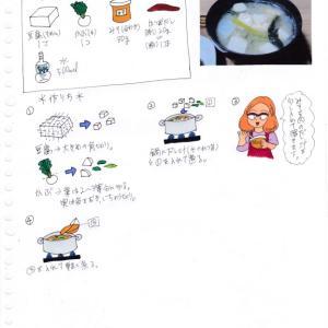豆腐とかぶのみそ汁