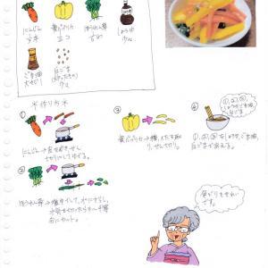 にんじんと黄パプリカのナムル