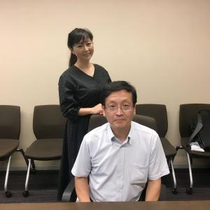 押谷先生1回目の放送でした。