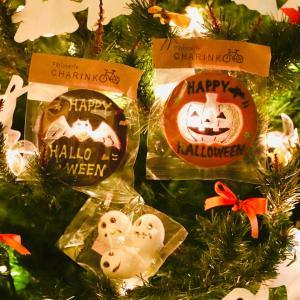 ハロウィンツリーとステンドグラスクッキー♪