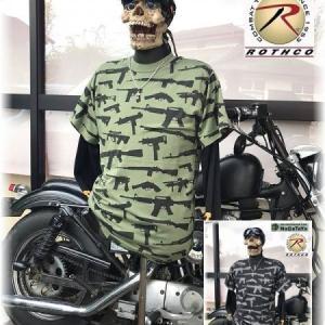 ROTHCO社製 ロスコ ビンテージ 銃柄 Tシャツ。