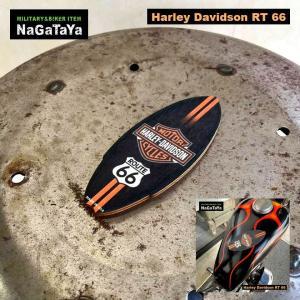新品 '50s ミニ サーフ ボード マグネット Harley Davidson RT 66
