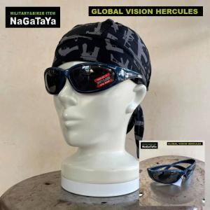 GLOBAL VISION サングラス HERCULES ブルーフレーム