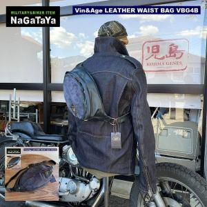 Vin&Age LEATHER WAIST BAG レザー(本革) ウエストバッグ