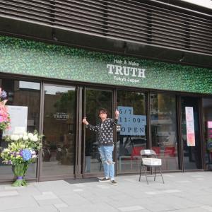 TRUTH台北天母店オープンしました