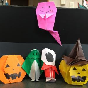 折り紙でハロウィン