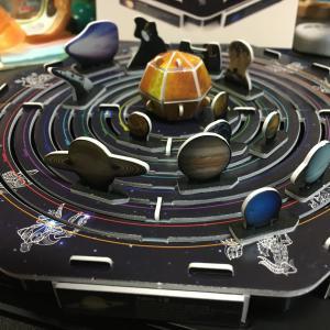 3Dパズル「太陽系模型」