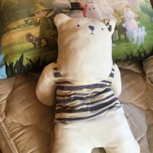ムーミン谷ロング枕