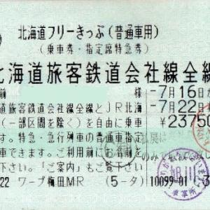 飛行機で北海道。道内は鉄道利用にお得なきっぷ
