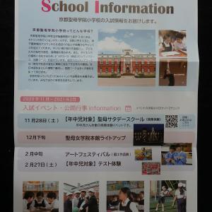 京都聖母学院小学校「年中児保護者の皆様への入試情報案内」紹介