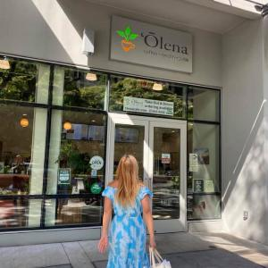 オレナのカフェ発見