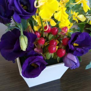 【つやま美バーチェ】花セラピーを体験しました♪