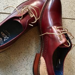 おニューな靴。