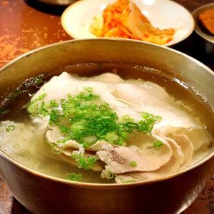 ソウル中★人気のデジコムタンで韓国おひとり様ランチ