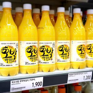 韓国のマートで気になった乳酸菌たっぷりなマッコリ!