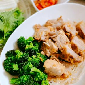 ストウブ鍋で美味しく簡単に煮豚料理!