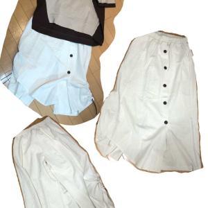 パンツスカート シャーリングラップデザイン✨