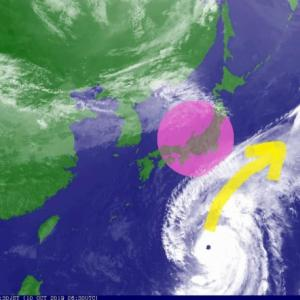 巨大台風から瞑想で日本を守ろう