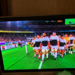 ラグビーW杯、日本4連勝!!