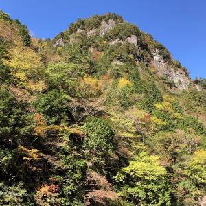 御手洗渓谷の黄葉・紅葉