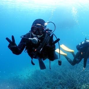 「体験ダイビング!」