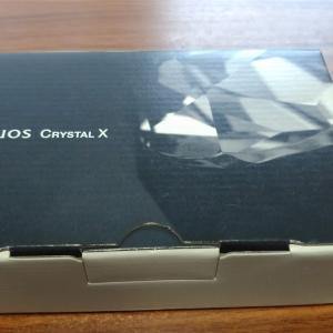 Softbank AQUOS Crystal Xを貰ったので簡単にレビューを意外と音楽再生が良いぞ!!