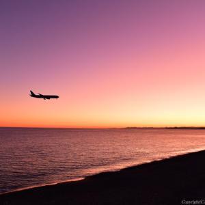 黄昏・太平洋